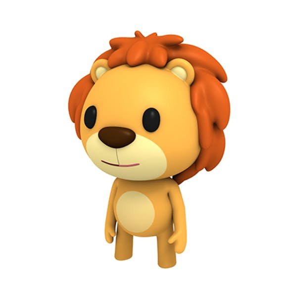 Rigged Little Lion