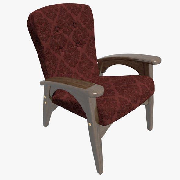 Armchair 03 - 3DOcean Item for Sale