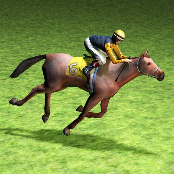 RaceHorses - 3DOcean Item for Sale
