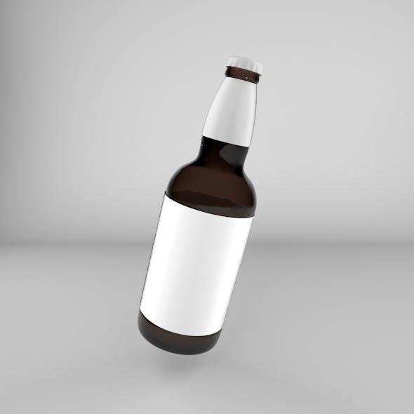 Craft Beer Bottle - 3DOcean Item for Sale