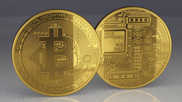 Bitcoin - high poly, real 3d model by bobooo76 | 3DOcean