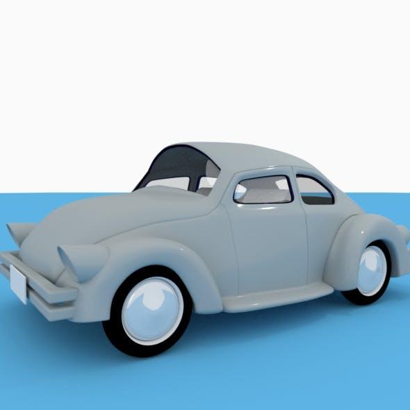 Fat Classic VW Car - 3DOcean Item for Sale