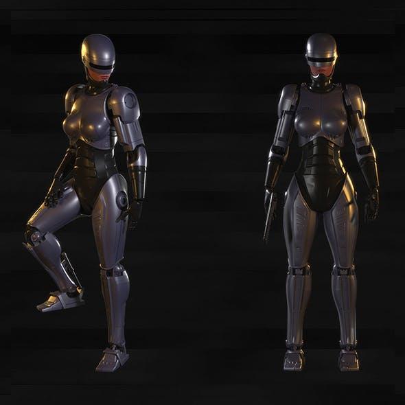 Robocop-Woman