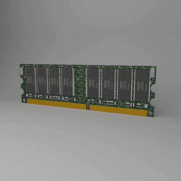 Computer Ram Kingston - 3DOcean Item for Sale