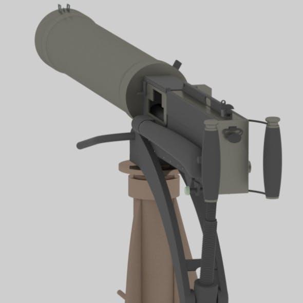 maxim / Vickers Heavy Machine Gun - 3DOcean Item for Sale