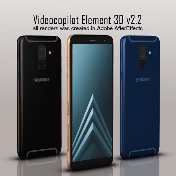 Samsung Galaxy A6 Plus - 3DOcean Item for Sale
