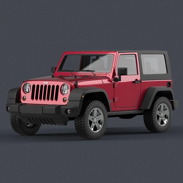 Jeep Wrangler - 3DOcean Item for Sale