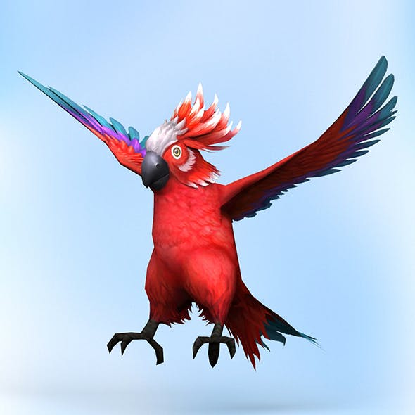 Fantasy Parrot - 3DOcean Item for Sale