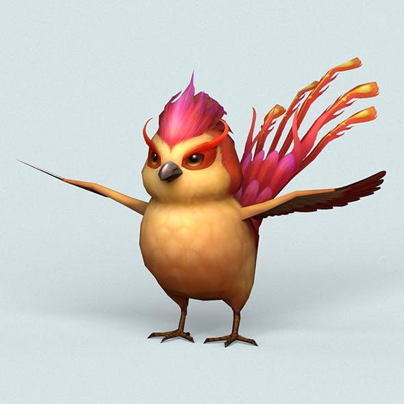 Fantasy Love Bird - 3DOcean Item for Sale