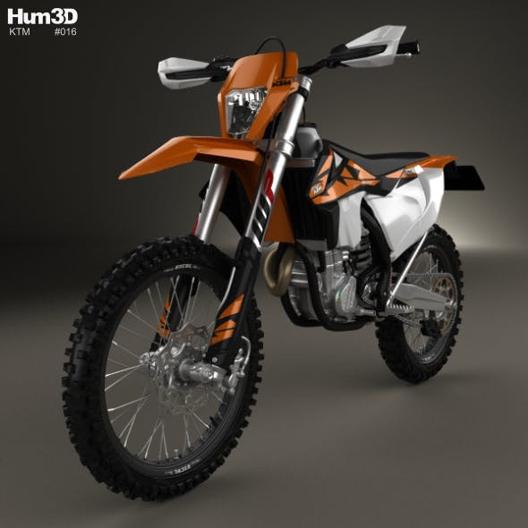 KTM 450 EXC-F 2017 - 3DOcean Item for Sale
