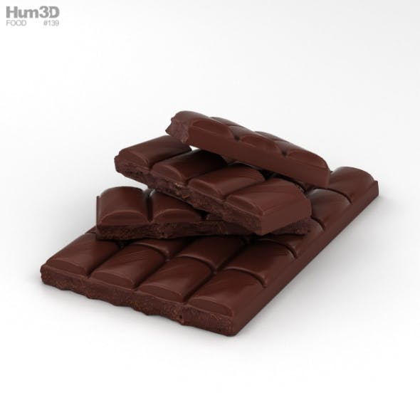 Chocolate Bar - 3DOcean Item for Sale