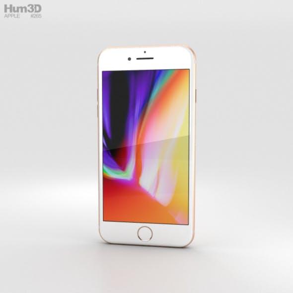 Apple iPhone 8 Plus Gold - 3DOcean Item for Sale