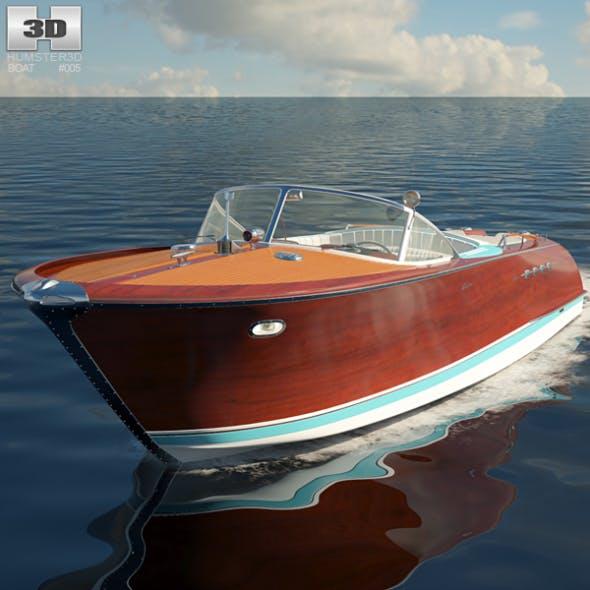Riva Aquarama - 3DOcean Item for Sale