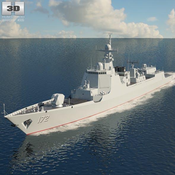 Type 052D destroyer - 3DOcean Item for Sale