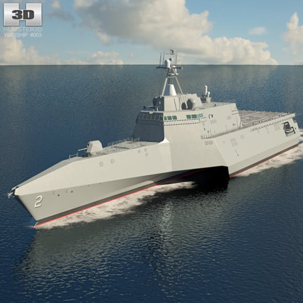 USS Independence - 3DOcean Item for Sale
