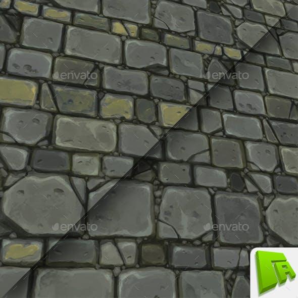 Gray Chunky Wall