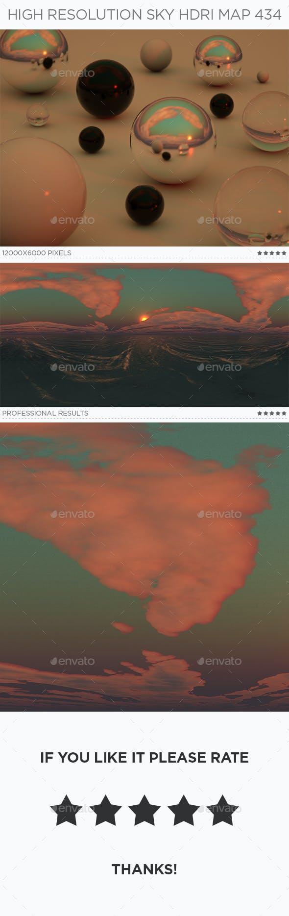 High Resolution Sky HDRi Map 434 - 3DOcean Item for Sale