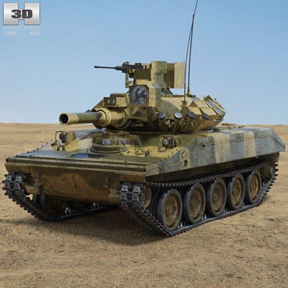 M551 Sheridan - 3DOcean Item for Sale