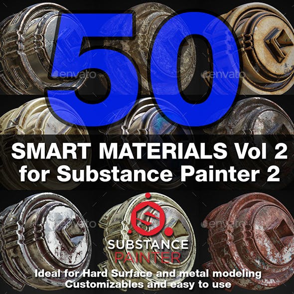 Substance Painter Smart Materials Vol. 2