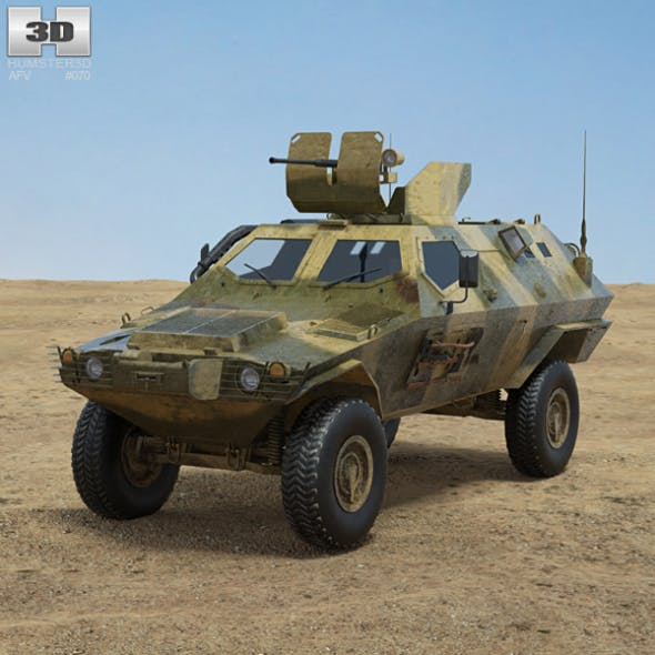 Otokar Cobra - 3DOcean Item for Sale