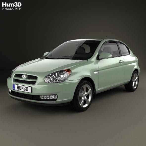 Hyundai Accent (MC) hatchback 3-door 2006