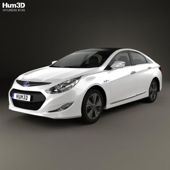 Hyundai Sonata (YF) hybrid 2015
