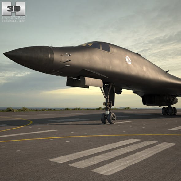 Rockwell B-1 Lancer - 3DOcean Item for Sale