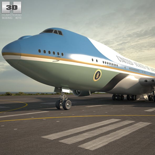 Boeing VC-25 Air Force One - 3DOcean Item for Sale