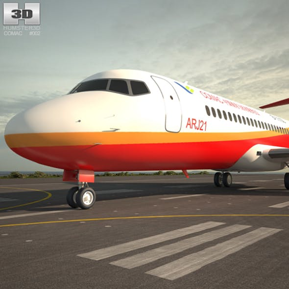 Comac ARJ21 - 3DOcean Item for Sale