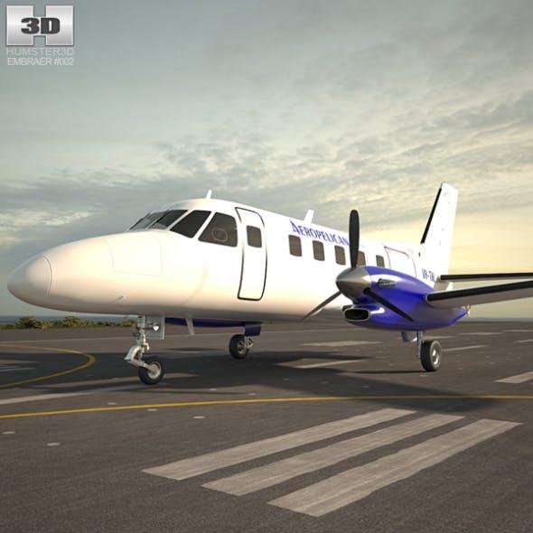 Embraer EMB 110 - 3DOcean Item for Sale