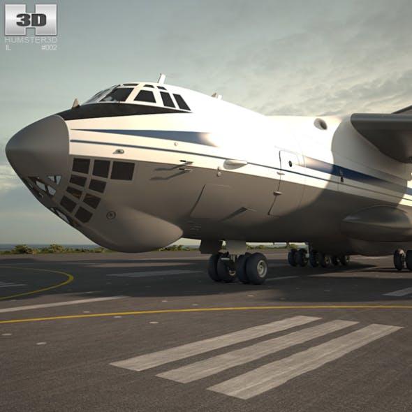 Ilyushin Il 76 - 3DOcean Item for Sale