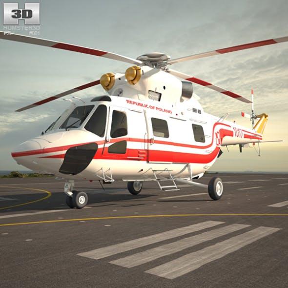 PZL W-3 Sokol - 3DOcean Item for Sale