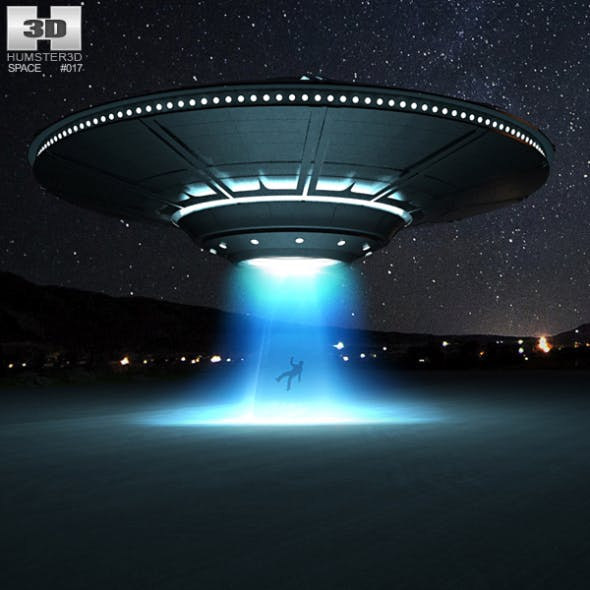 UFO - 3DOcean Item for Sale