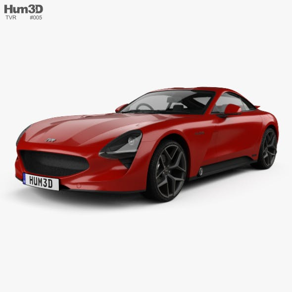 TVR Griffith 2018 - 3DOcean Item for Sale