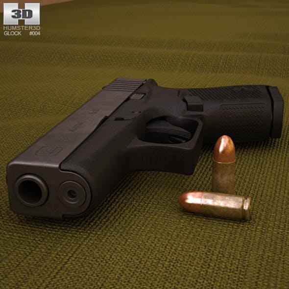 Glock 43 - 3DOcean Item for Sale