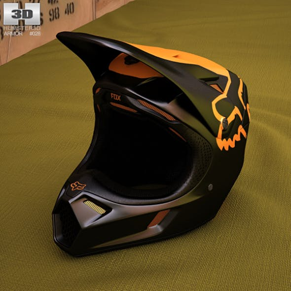 Fox V3 Moth Helmet - 3DOcean Item for Sale