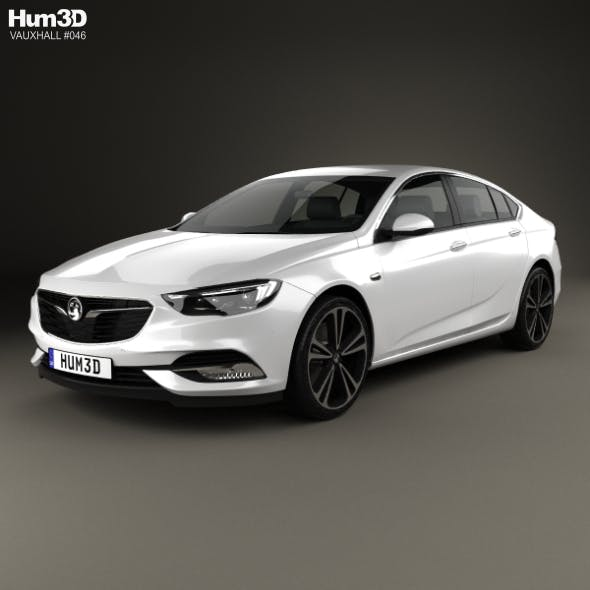 Vauxhall Insignia Grand Sport 2017 - 3DOcean Item for Sale
