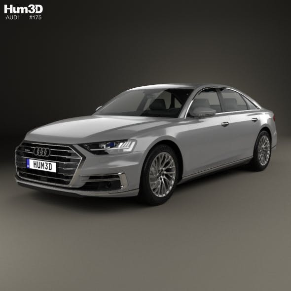 Audi A8 (D5) L 2018 - 3DOcean Item for Sale
