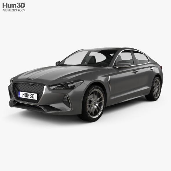 Genesis G70 2018 - 3DOcean Item for Sale
