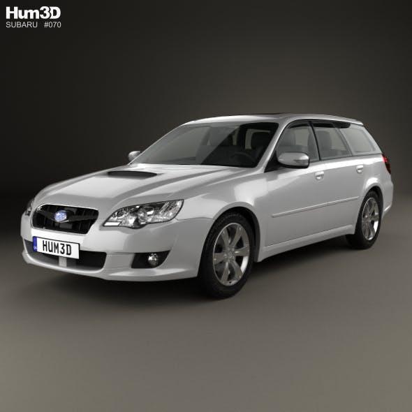 Subaru Legacy station wagon 2008