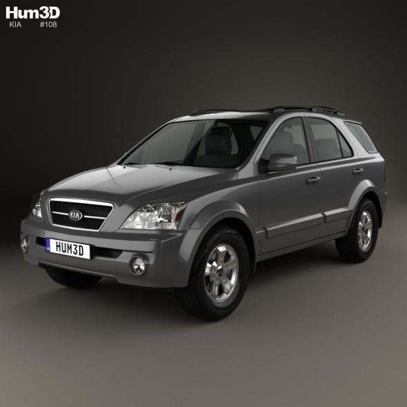 Kia Sorento EX US-spec 2002 - 3DOcean Item for Sale
