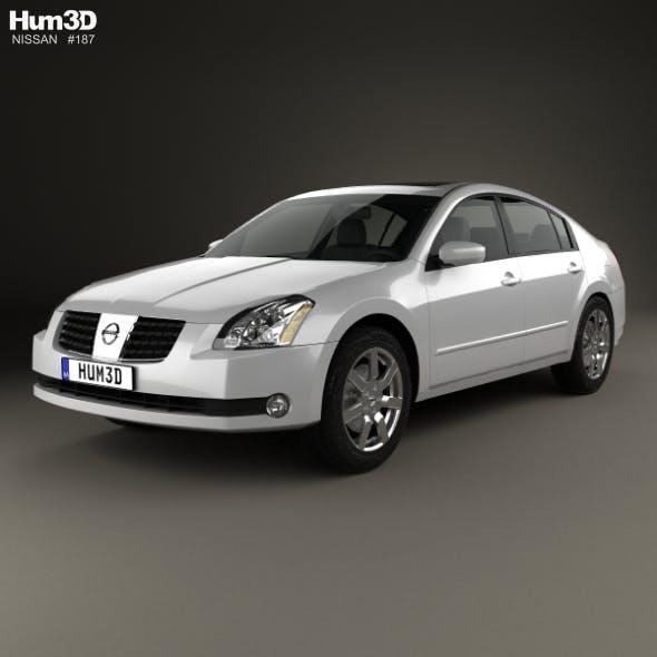 Nissan Maxima SL 2004 - 3DOcean Item for Sale