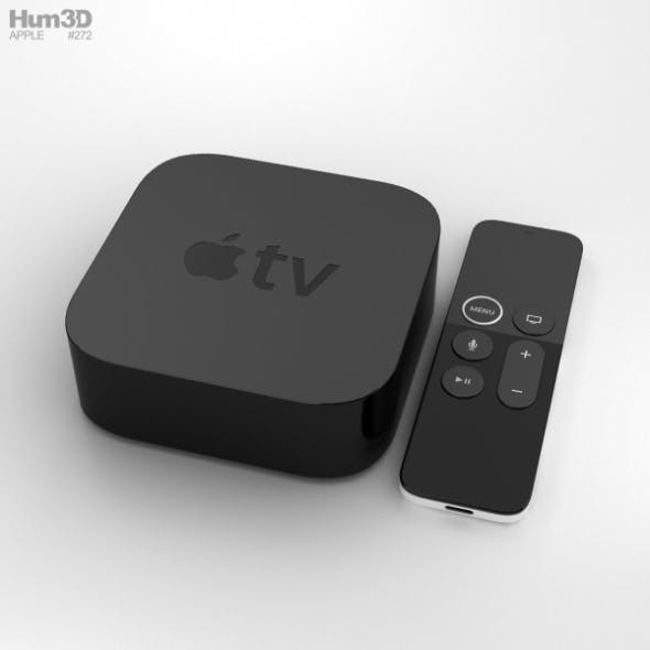 Apple TV 4K - 3DOcean Item for Sale