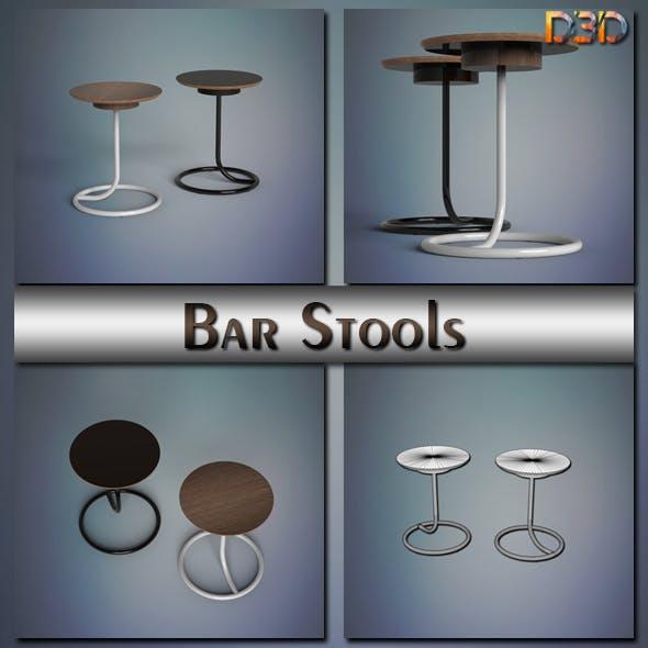 Bar Stools - 3DOcean Item for Sale