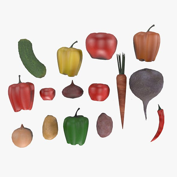 Vegetable Pack - 3DOcean Item for Sale