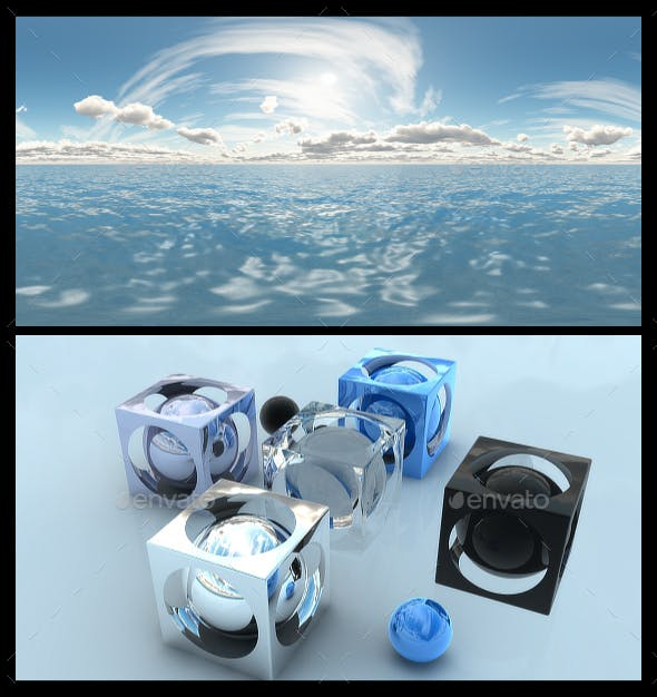 Ocean Bright Day 13 - HDRI - 3DOcean Item for Sale