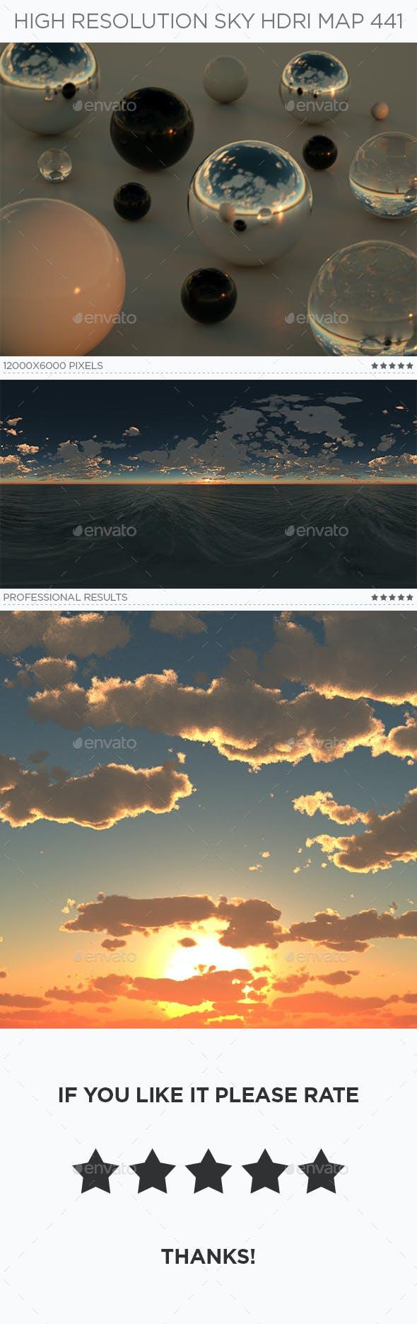 High Resolution Sky HDRi Map 441 - 3DOcean Item for Sale