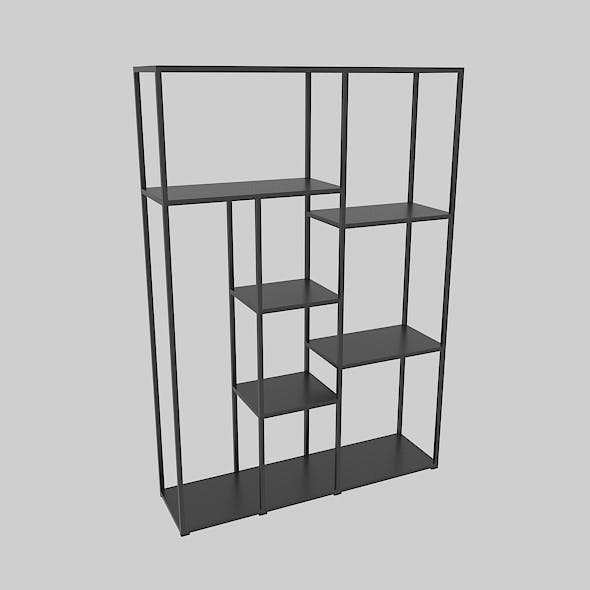 Office Bookcase 1400 - 3DOcean Item for Sale