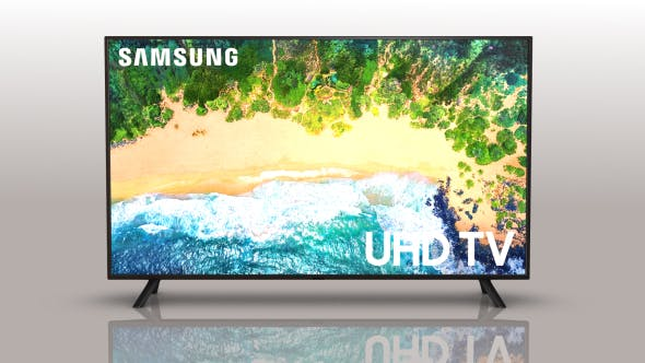 Samsung Smart TV NU7100 (Element 3D v2.2) - 3DOcean Item for Sale
