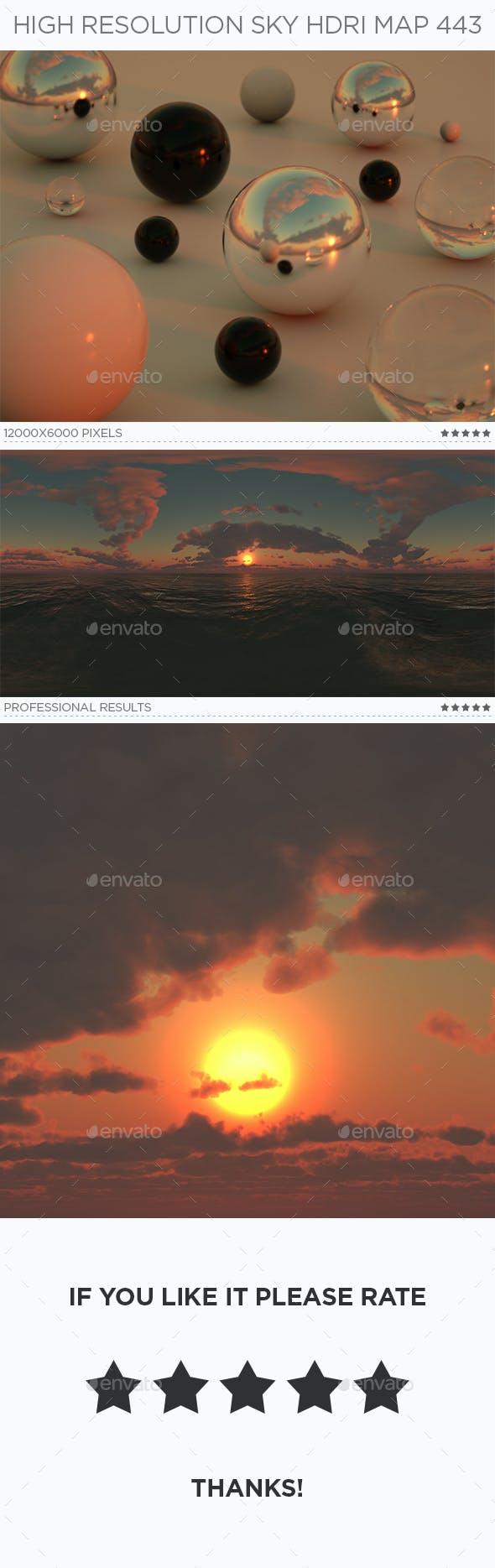 High Resolution Sky HDRi Map 443 - 3DOcean Item for Sale